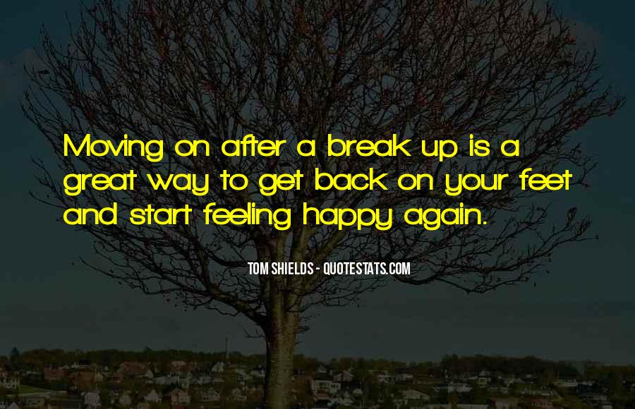 Broken Moving On Quotes #1467565