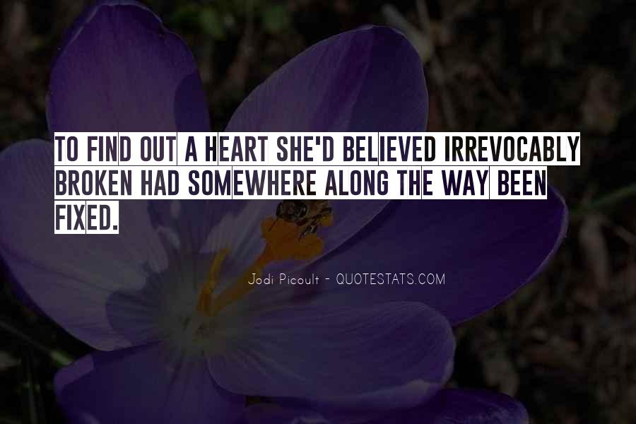 Broken Moving On Quotes #671028