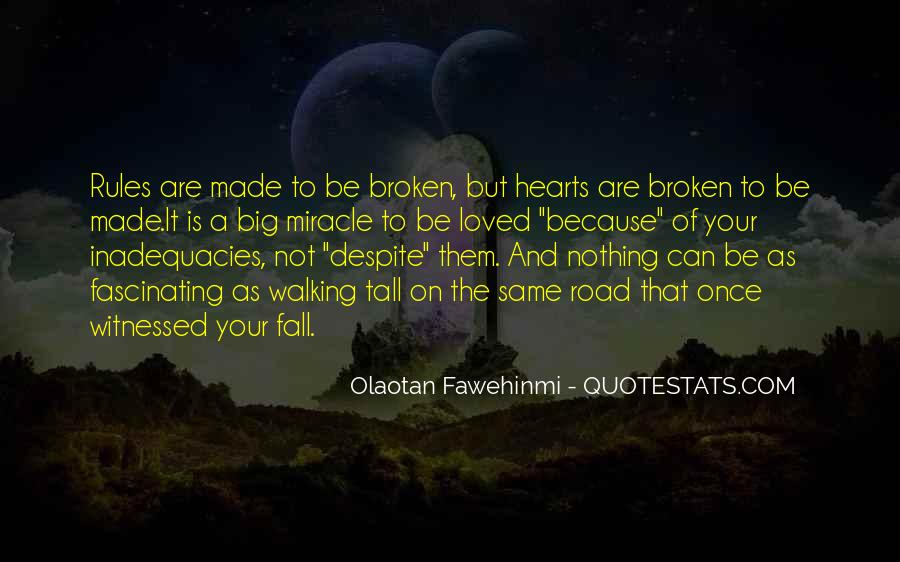 Broken Moving On Quotes #821865