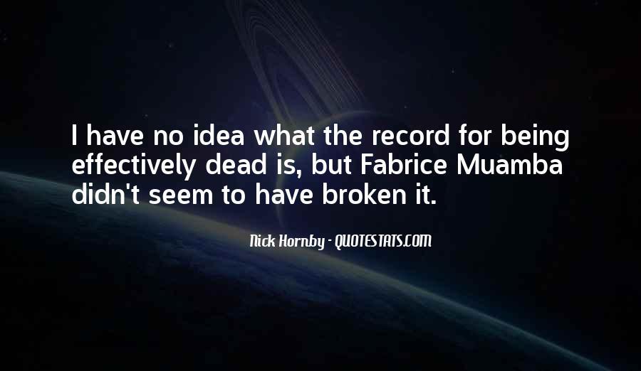 Broken Record Quotes #1304777