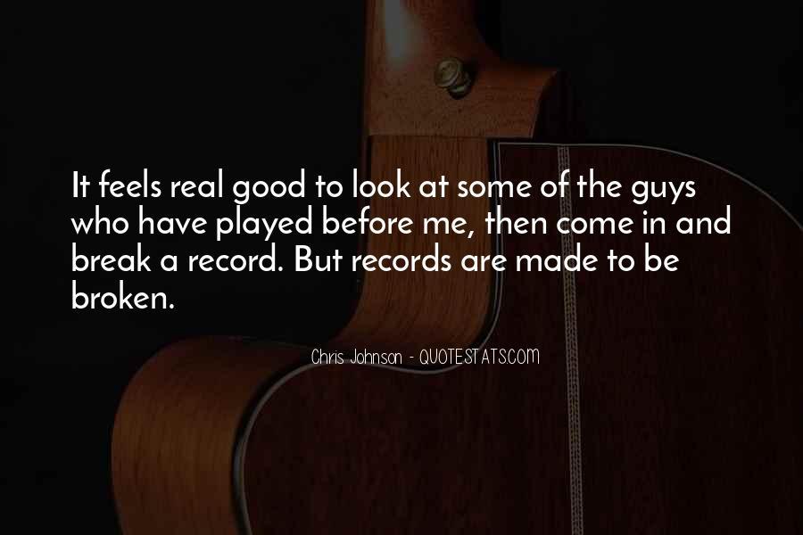 Broken Record Quotes #1606113