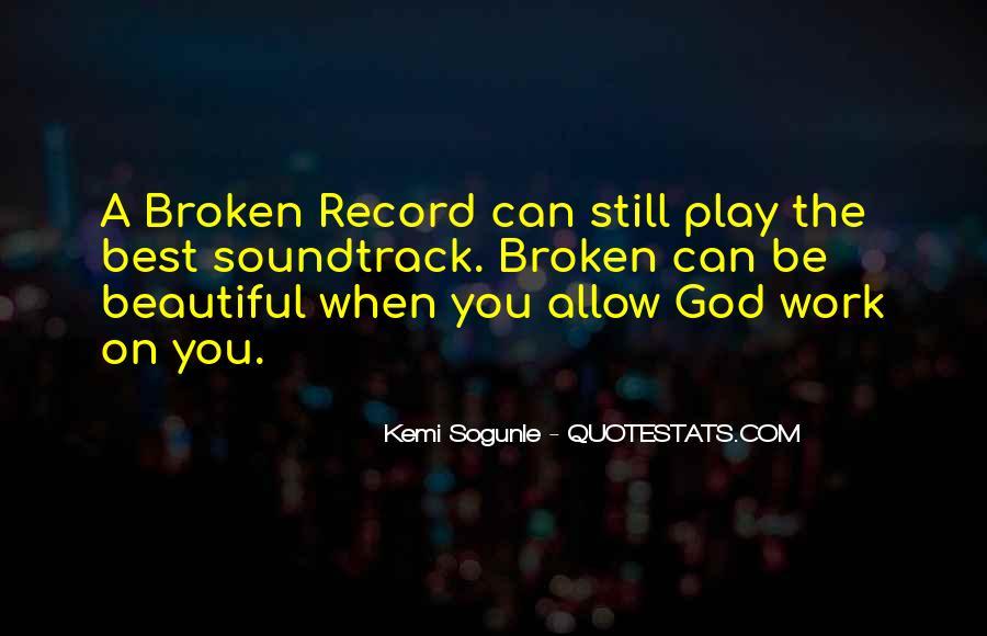 Broken Record Quotes #1772916