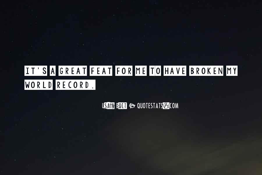 Broken Record Quotes #221681