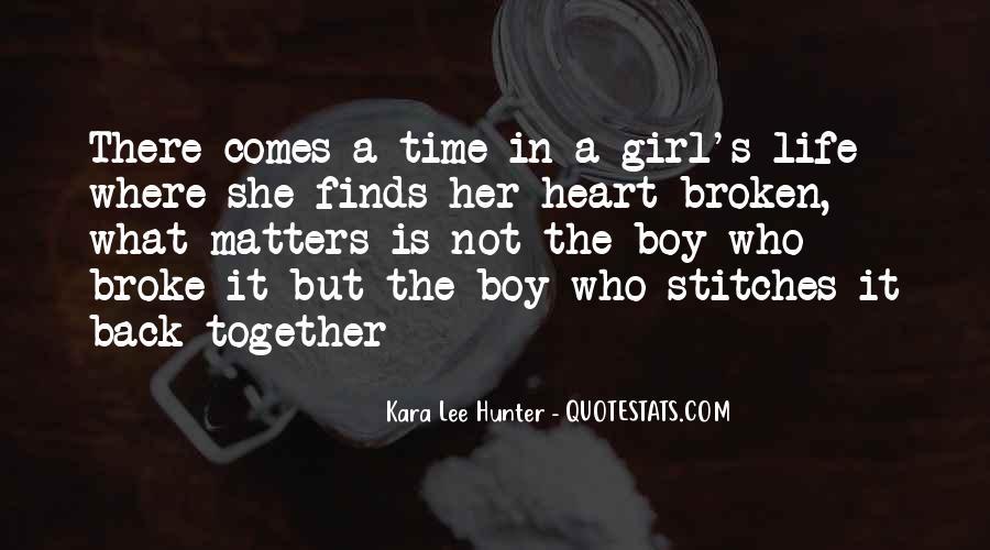 Broken Star Quotes #1576143