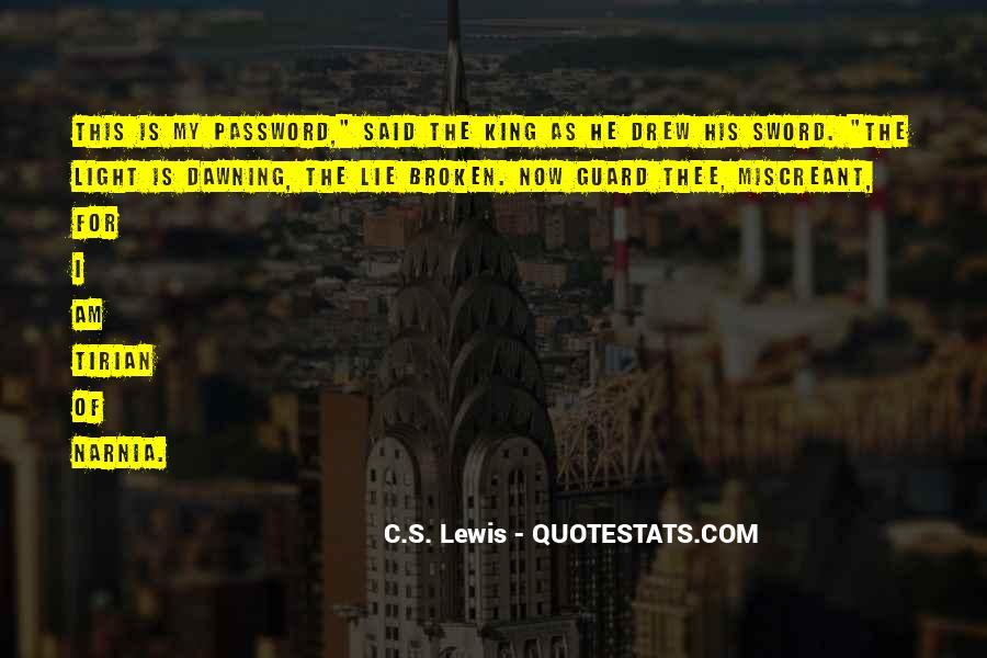 Broken Sword Quotes #1388964