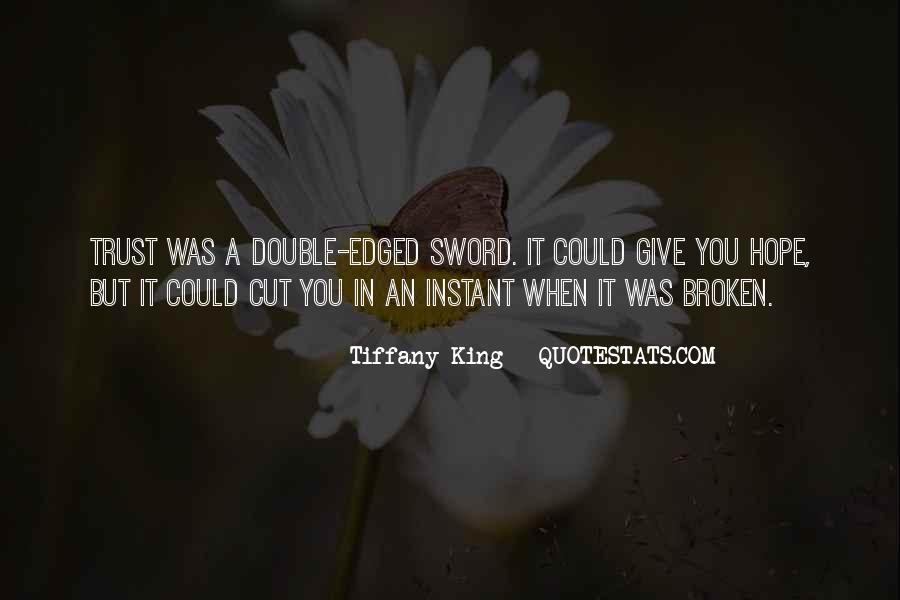 Broken Sword Quotes #1452267
