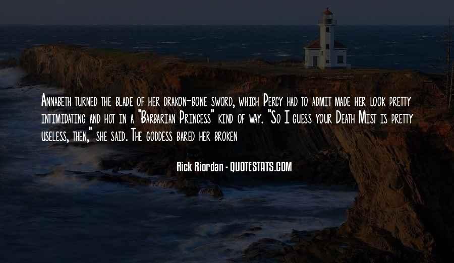 Broken Sword Quotes #580823