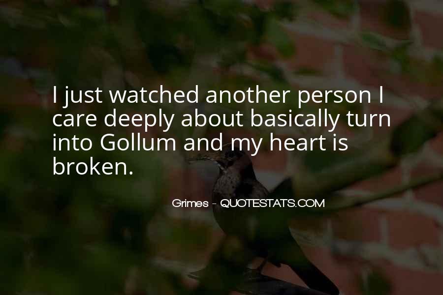 Broken Up Sad Quotes #12163