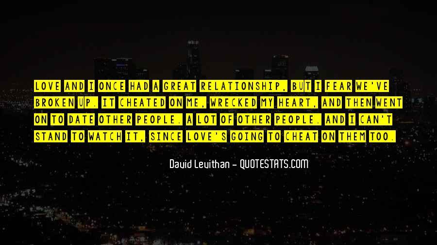 Broken Up Sad Quotes #13778