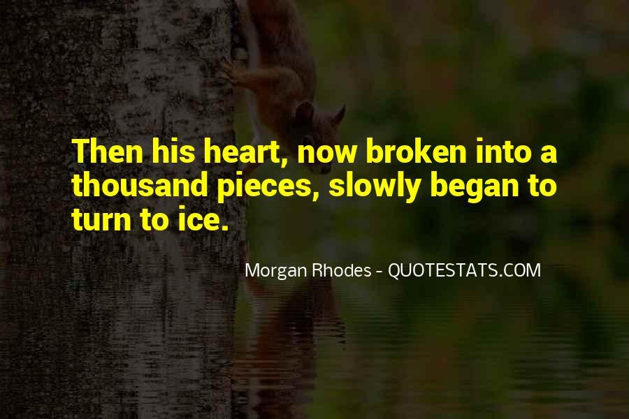 Broken Up Sad Quotes #14526