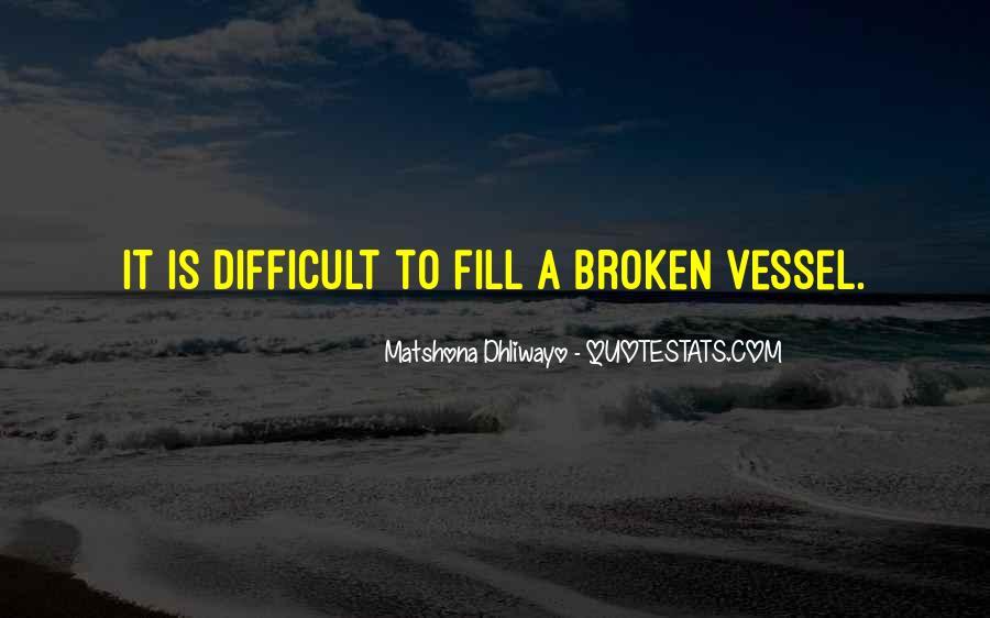 Broken Up Sad Quotes #24684