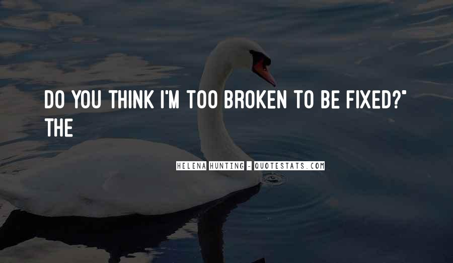 Broken Up Sad Quotes #27067