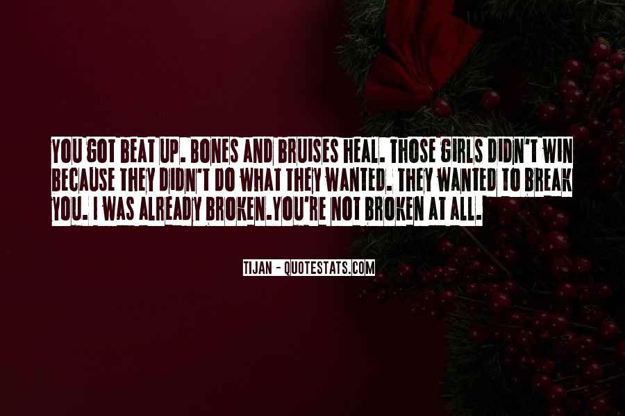 Broken Up Sad Quotes #28173