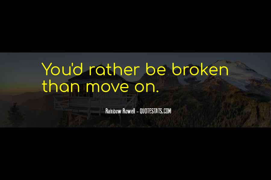 Broken Up Sad Quotes #28738