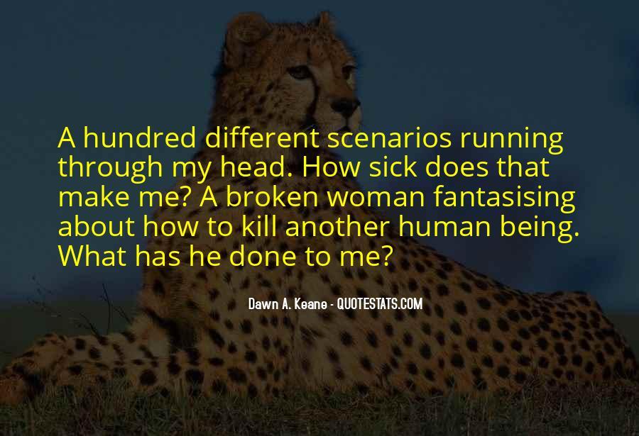 Broken Up Sad Quotes #28764