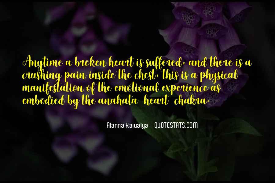 Broken Up Sad Quotes #3726