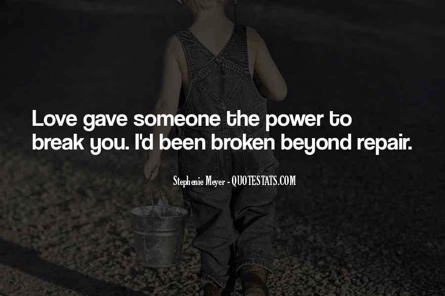 Broken Up Sad Quotes #9839