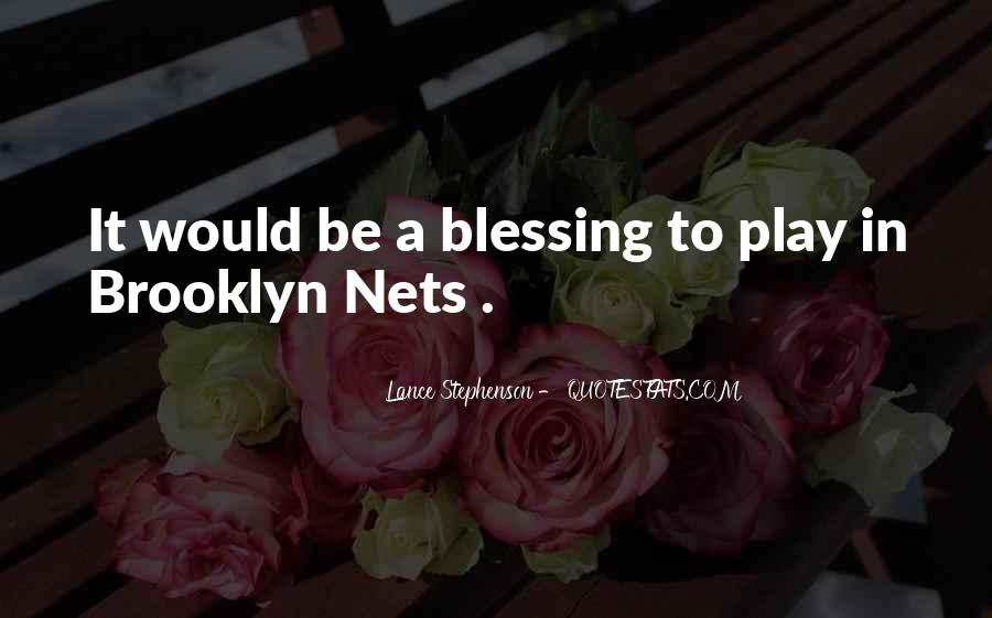 Brooklyn Nets Quotes #1786330