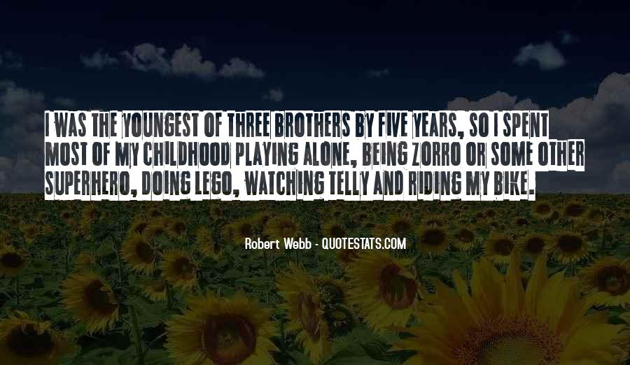 Brothers Being There For You Quotes #307761