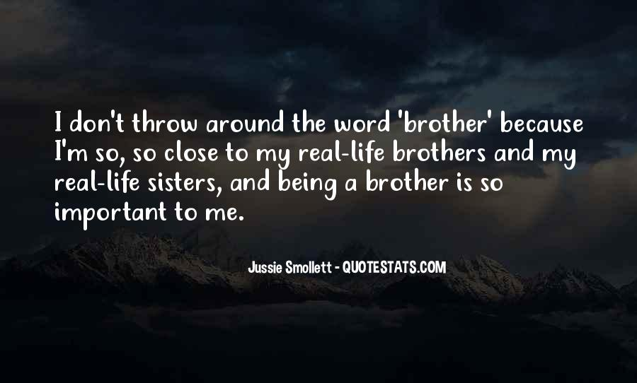 Brothers Being There For You Quotes #318903