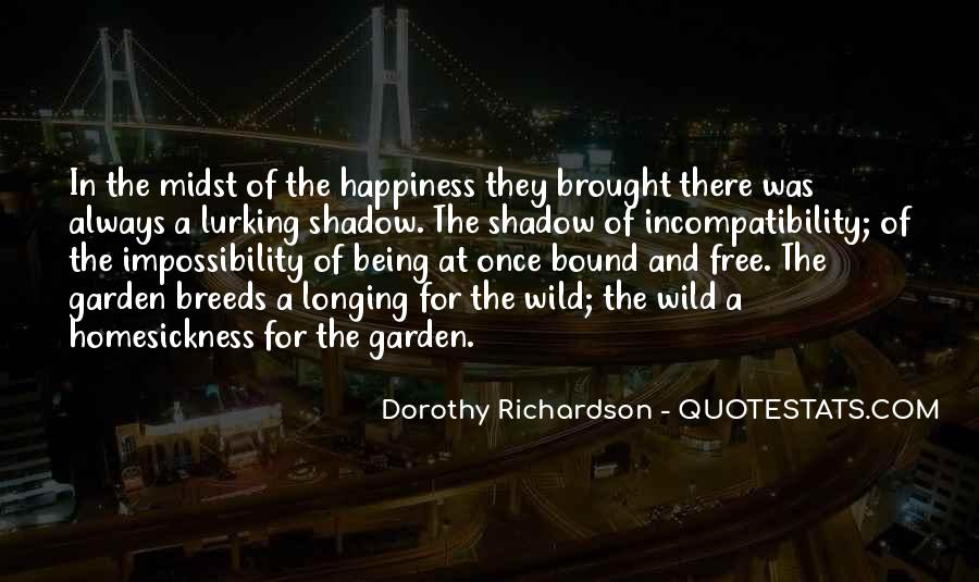 Brought Happiness Quotes #1204414