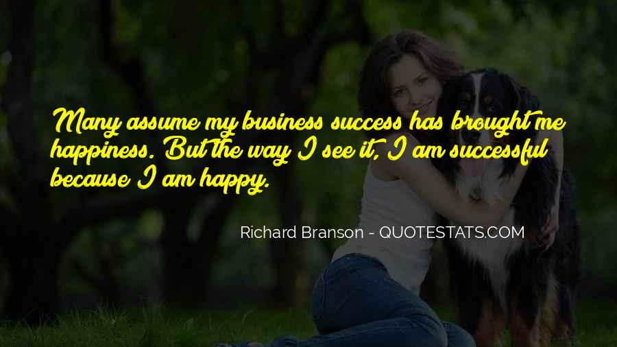 Brought Happiness Quotes #332447