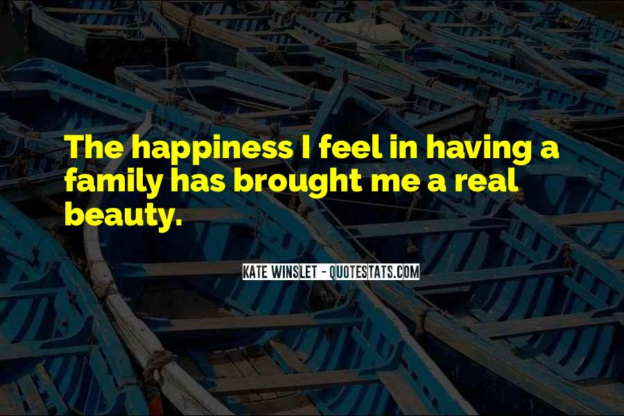 Brought Happiness Quotes #947989