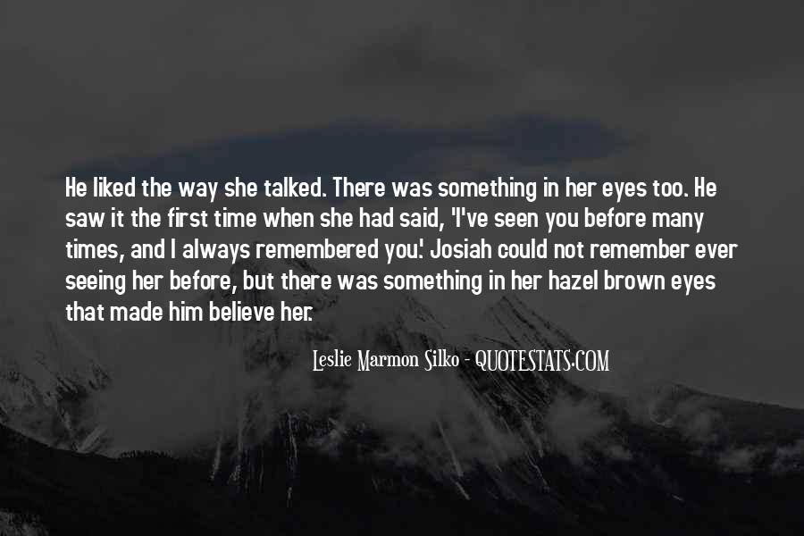 Top 19 Brown Hazel Eyes Quotes Famous Quotes Sayings About Brown