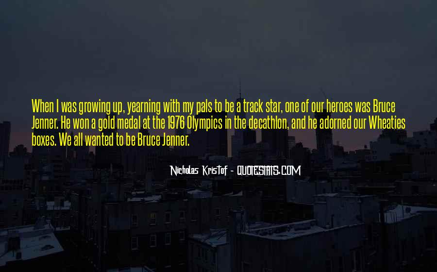 Bruce Jenner Decathlon Quotes #1434143