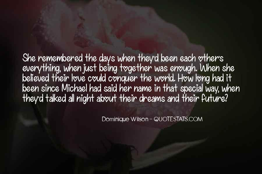 Quotes About Love And Dreams #116404