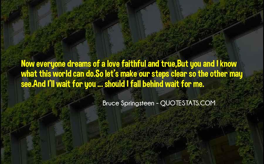 Quotes About Love And Dreams #164135