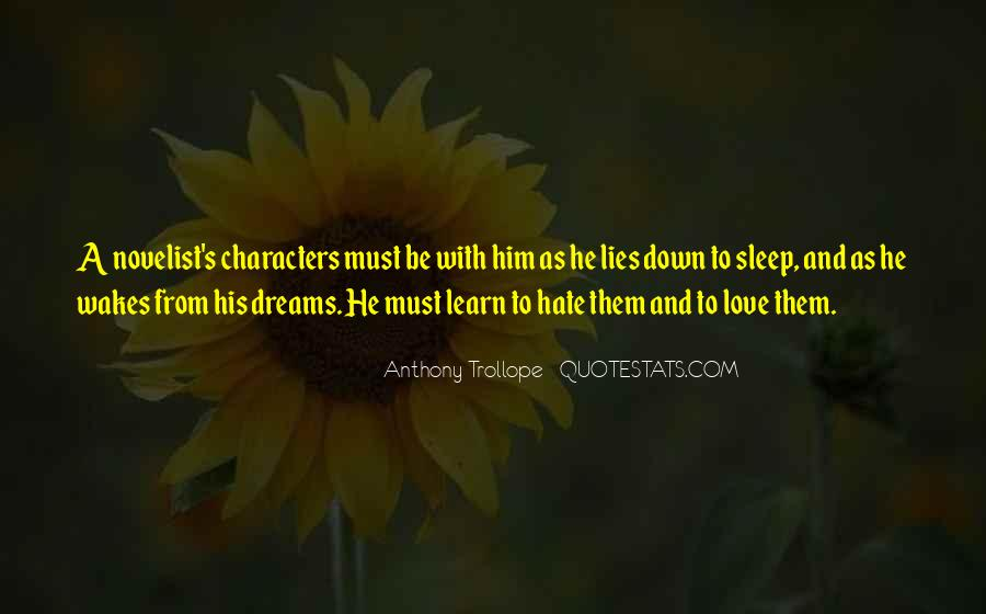 Quotes About Love And Dreams #172189