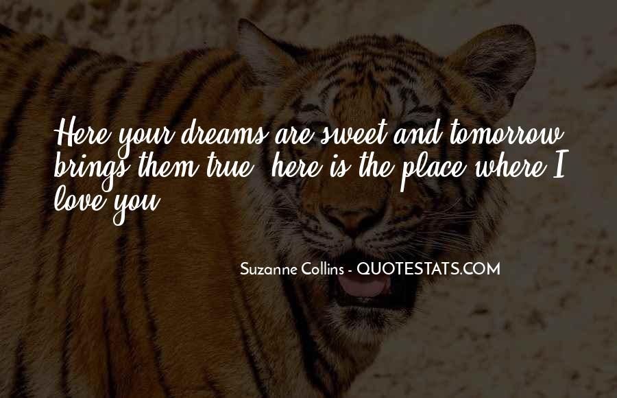 Quotes About Love And Dreams #97310
