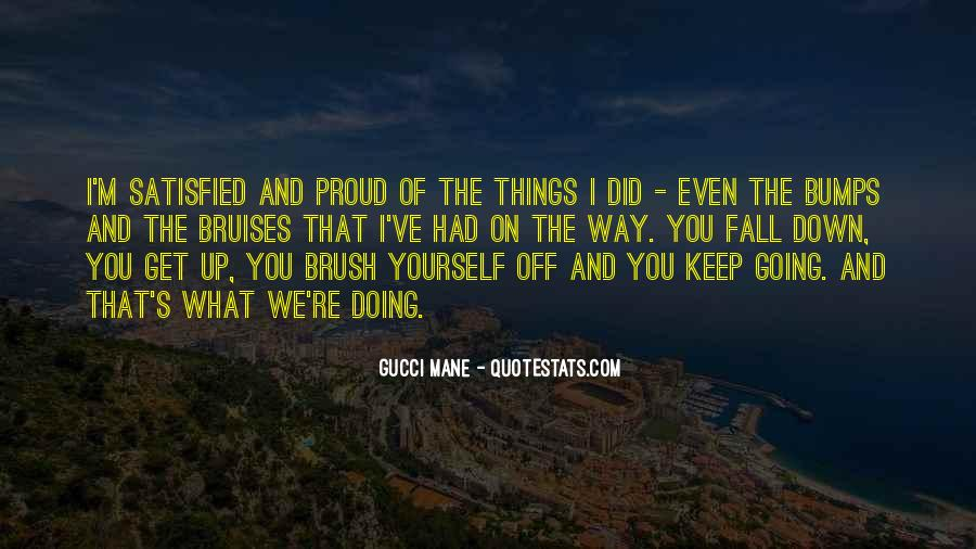 Brush Yourself Off Quotes #468049