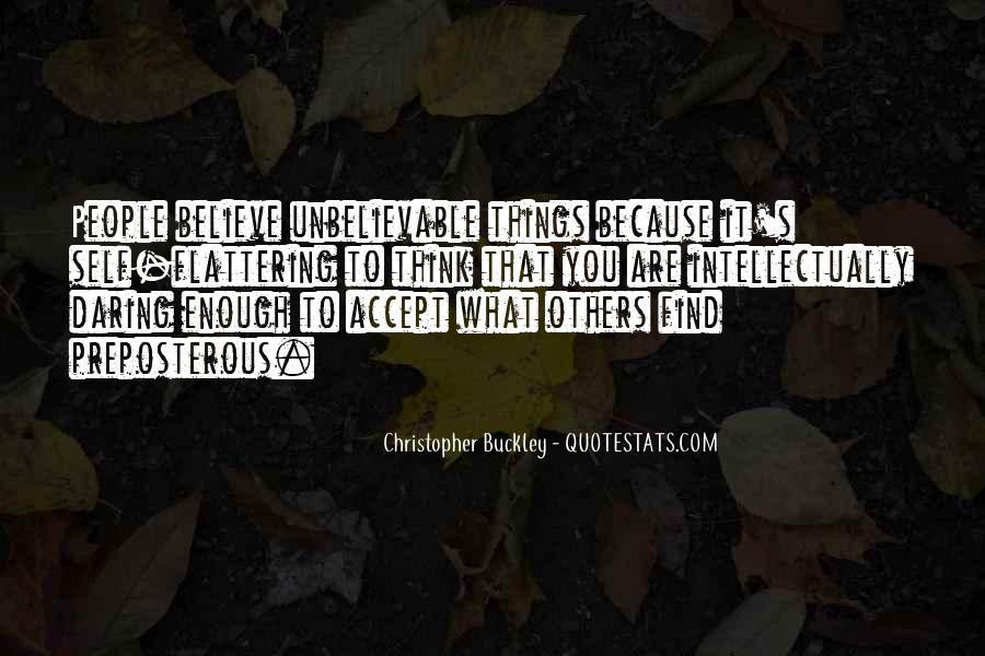 Buckley Quotes #138197
