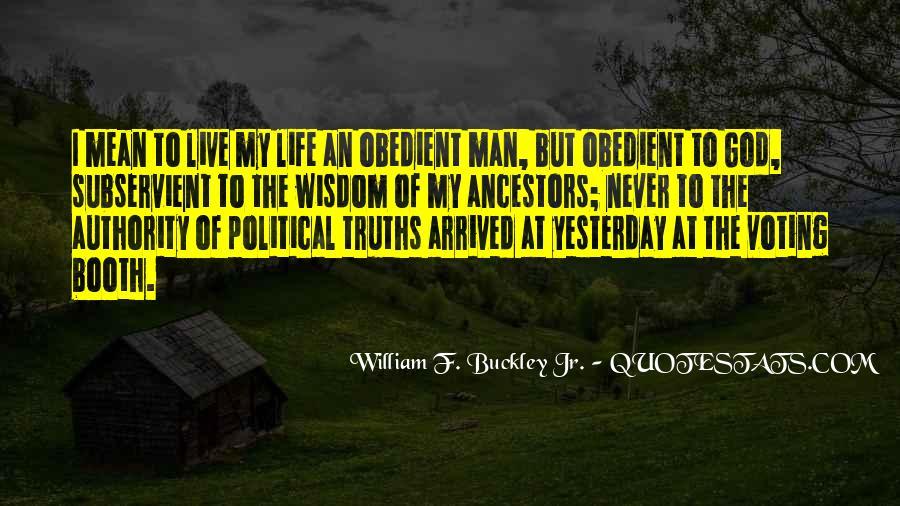 Buckley Quotes #153512