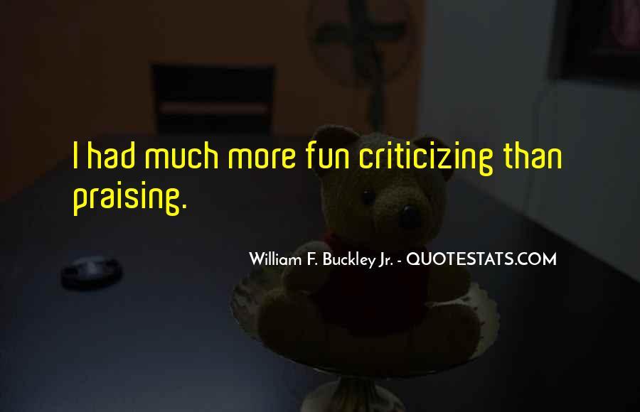 Buckley Quotes #154262
