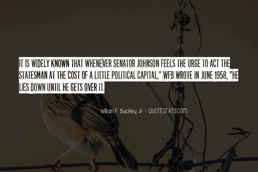 Buckley Quotes #194439