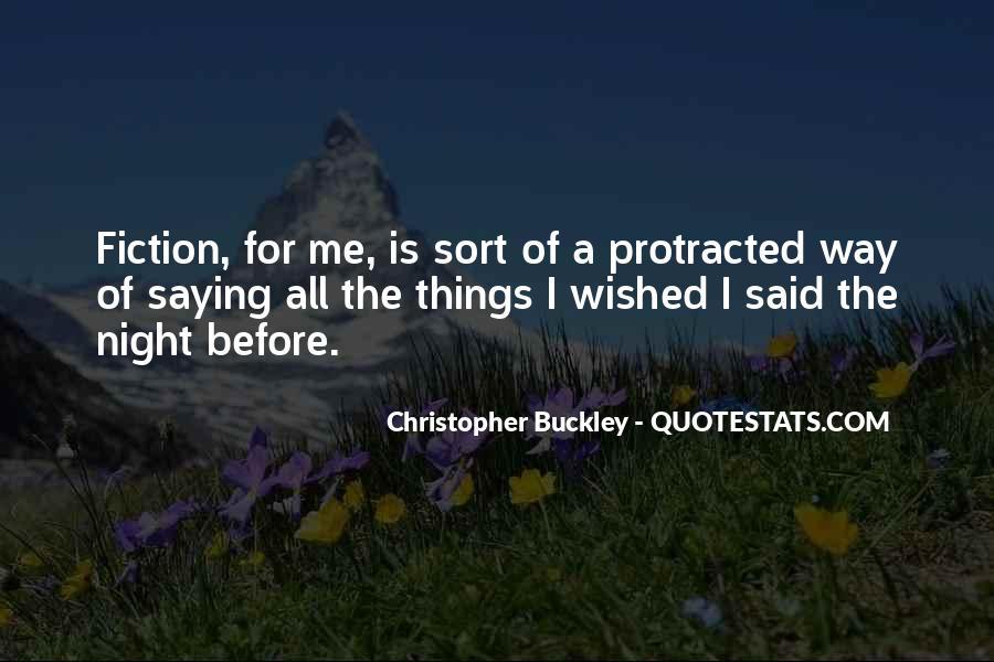 Buckley Quotes #262103
