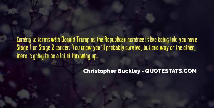 Buckley Quotes #3234