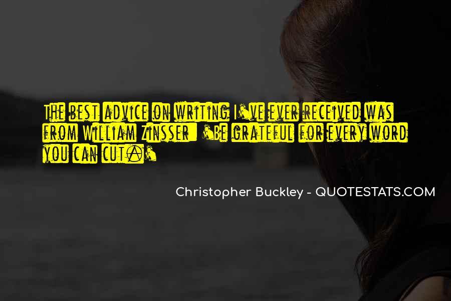 Buckley Quotes #3678