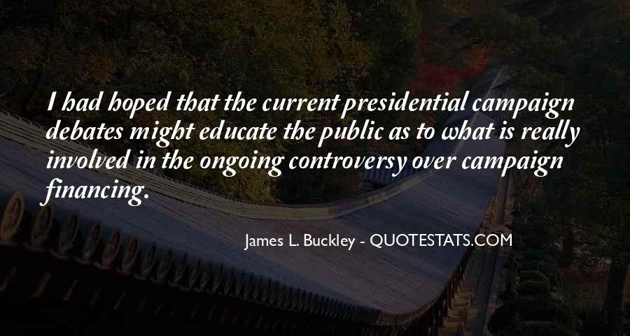 Buckley Quotes #44389