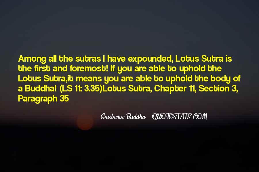 Buddha Lotus Sutra Quotes #199978