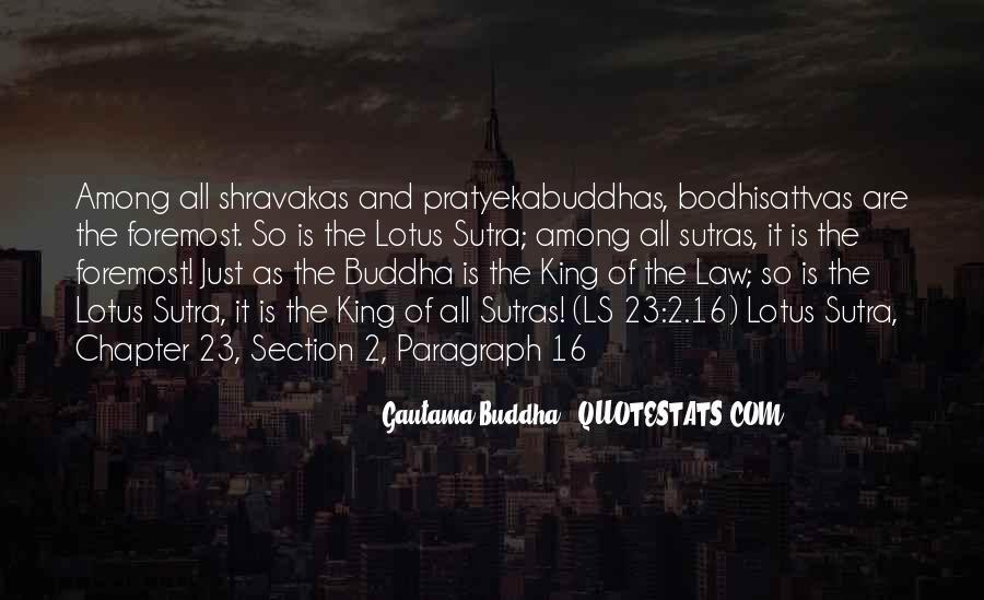 Buddha Lotus Sutra Quotes #529309