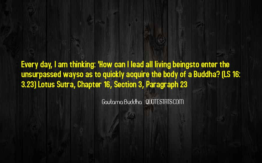 Buddha Lotus Sutra Quotes #562274