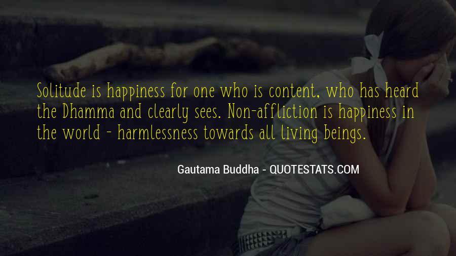 Buddha Solitude Quotes #1017195