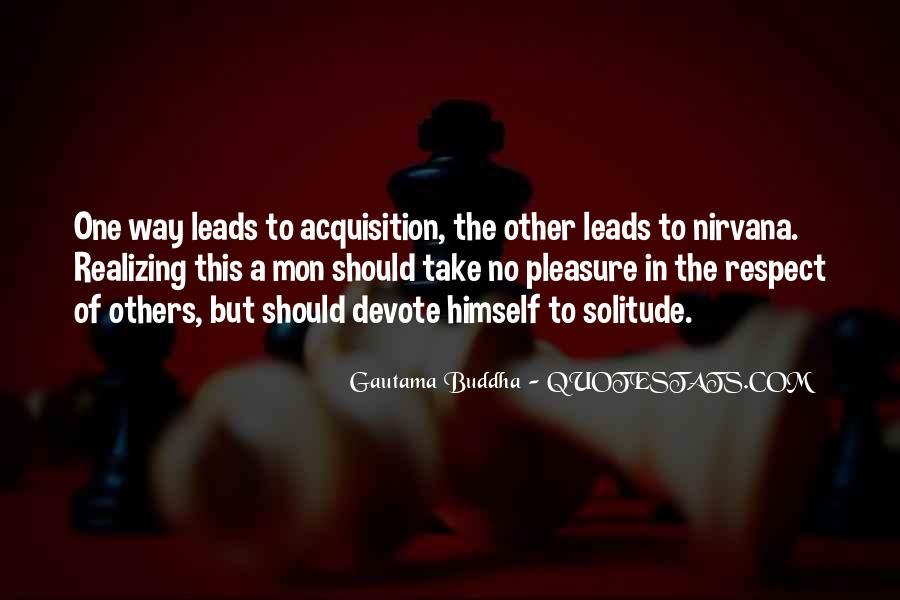 Buddha Solitude Quotes #95770