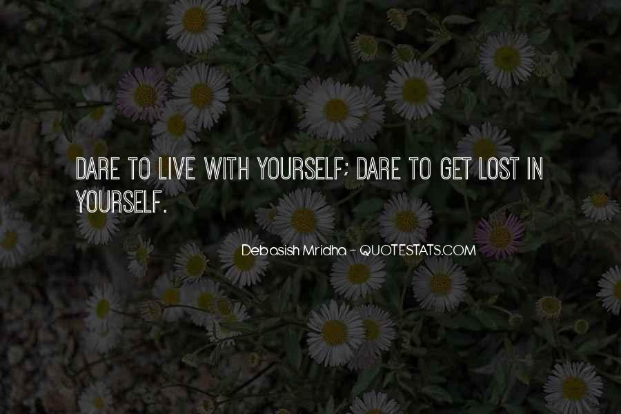 Quotes About Lost Yourself #145048