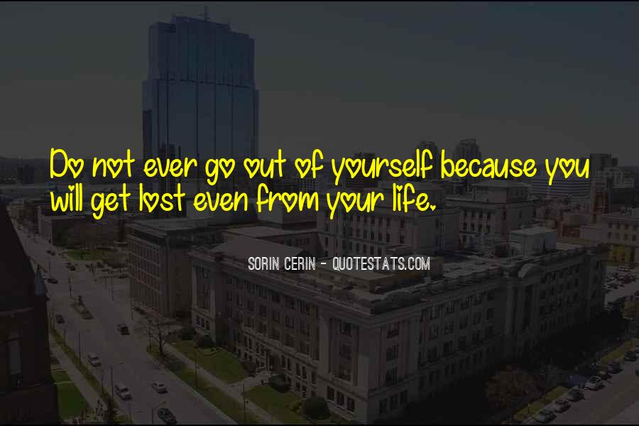 Quotes About Lost Yourself #239519