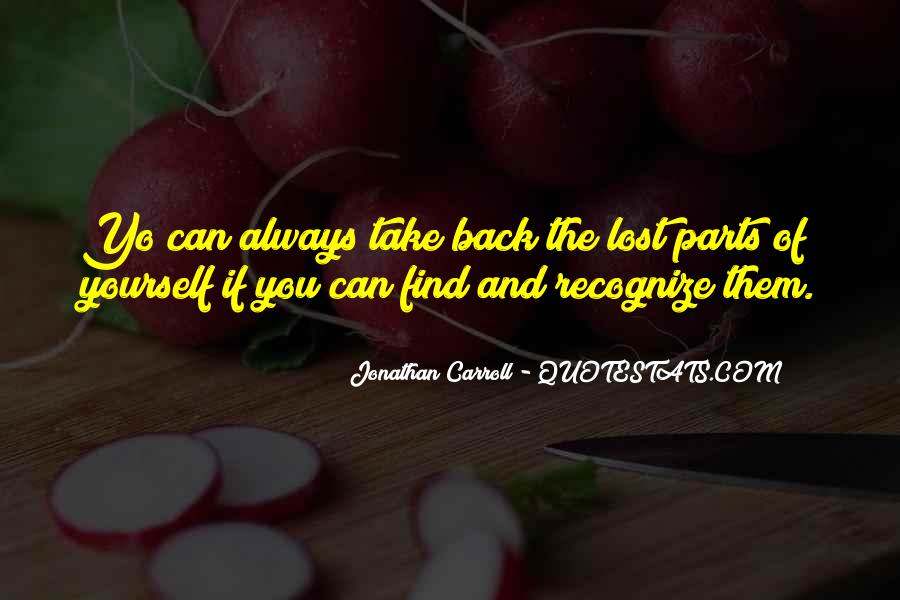 Quotes About Lost Yourself #254159